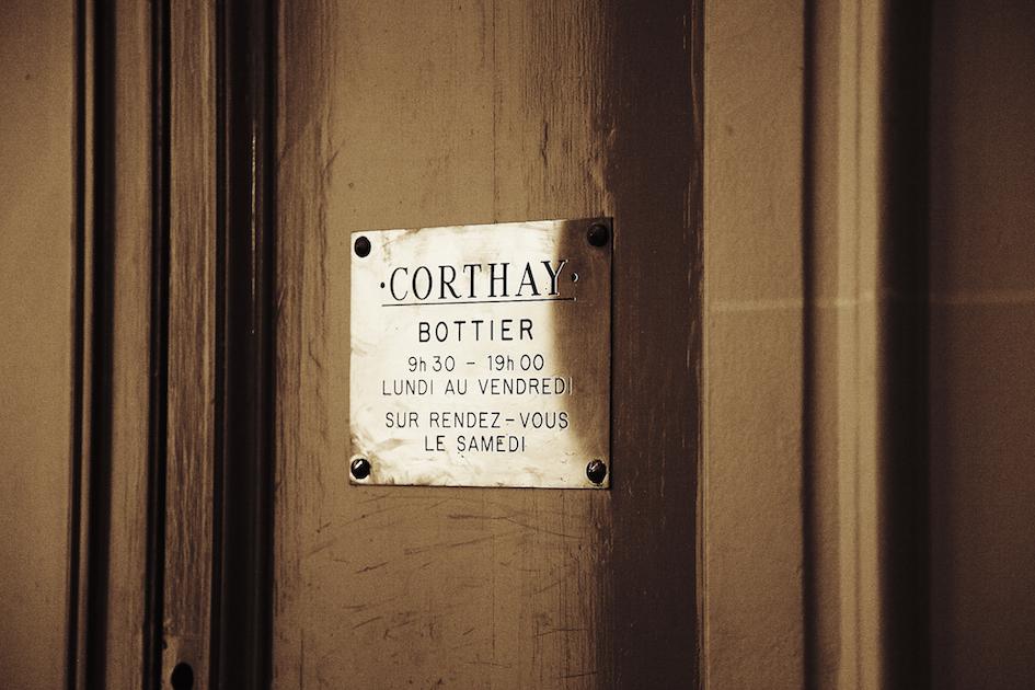 Plaque Corthay