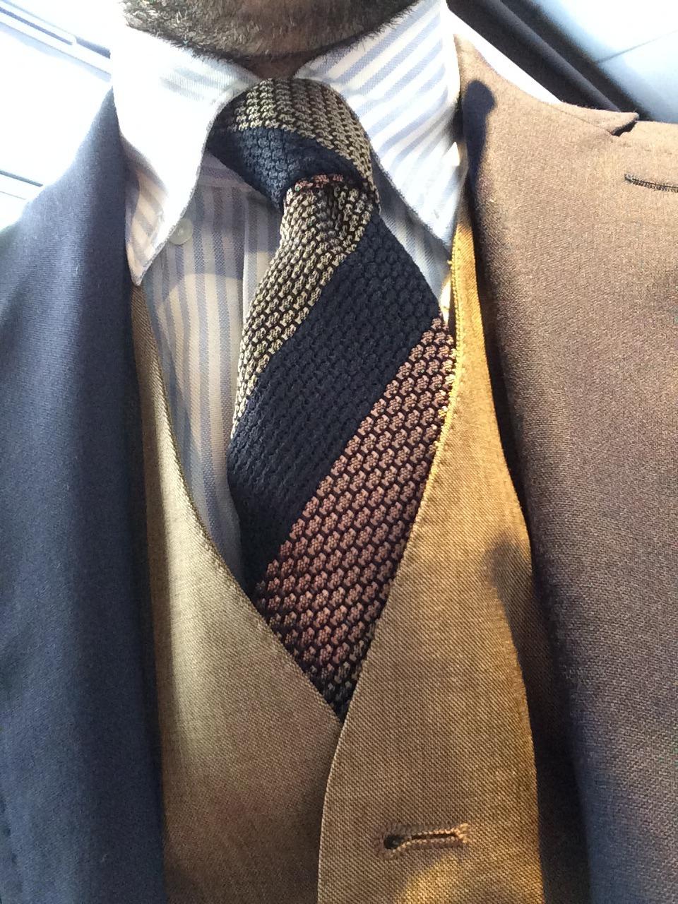 mismatch waistcoat