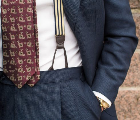 How to wear red ties and accessories 4 Parisian Gentleman