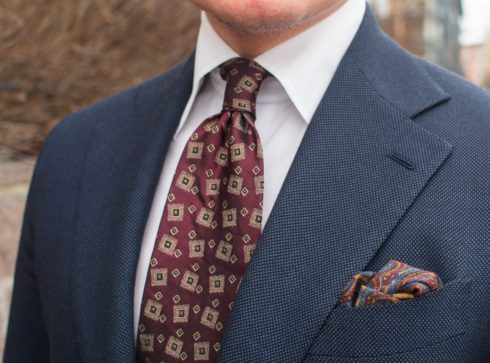 How to wear red ties and accessories 3 Parisian Gentleman