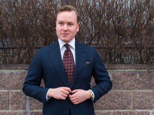 How to wear red ties and accessories 2 Parisian Gentleman