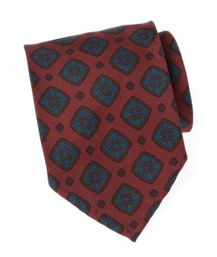 cravate-madder-non-doublee-bordeaux-a-losanges-bleus