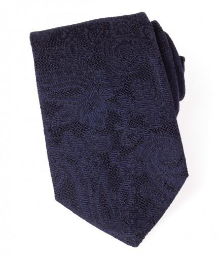 cravate-en-grenadine-jacquard-a-fleurs-8-cm