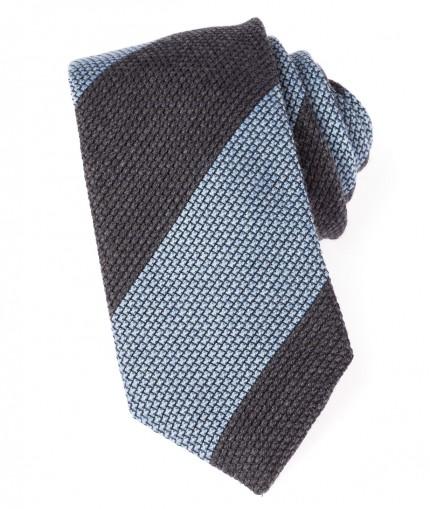 cravate-grise-et-bleu-ciel-en-grenadine-de-laine-7-cm