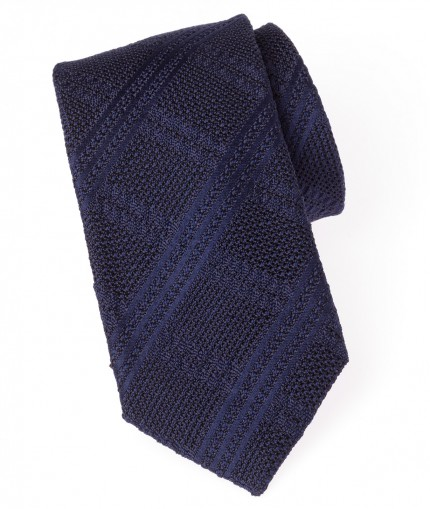 cravate-tartan-en-grenadine-jacquard-7-cm