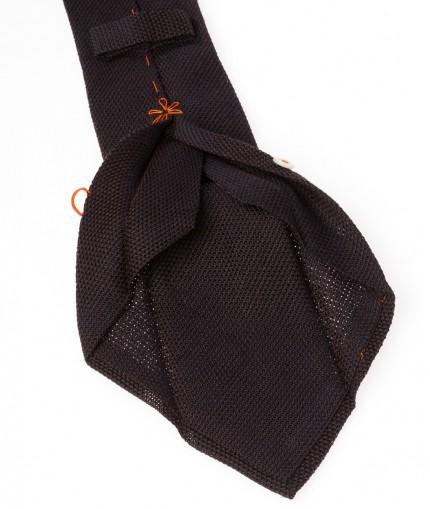 cravate-7-plis-en-grenadine-de-cachemire-marron
