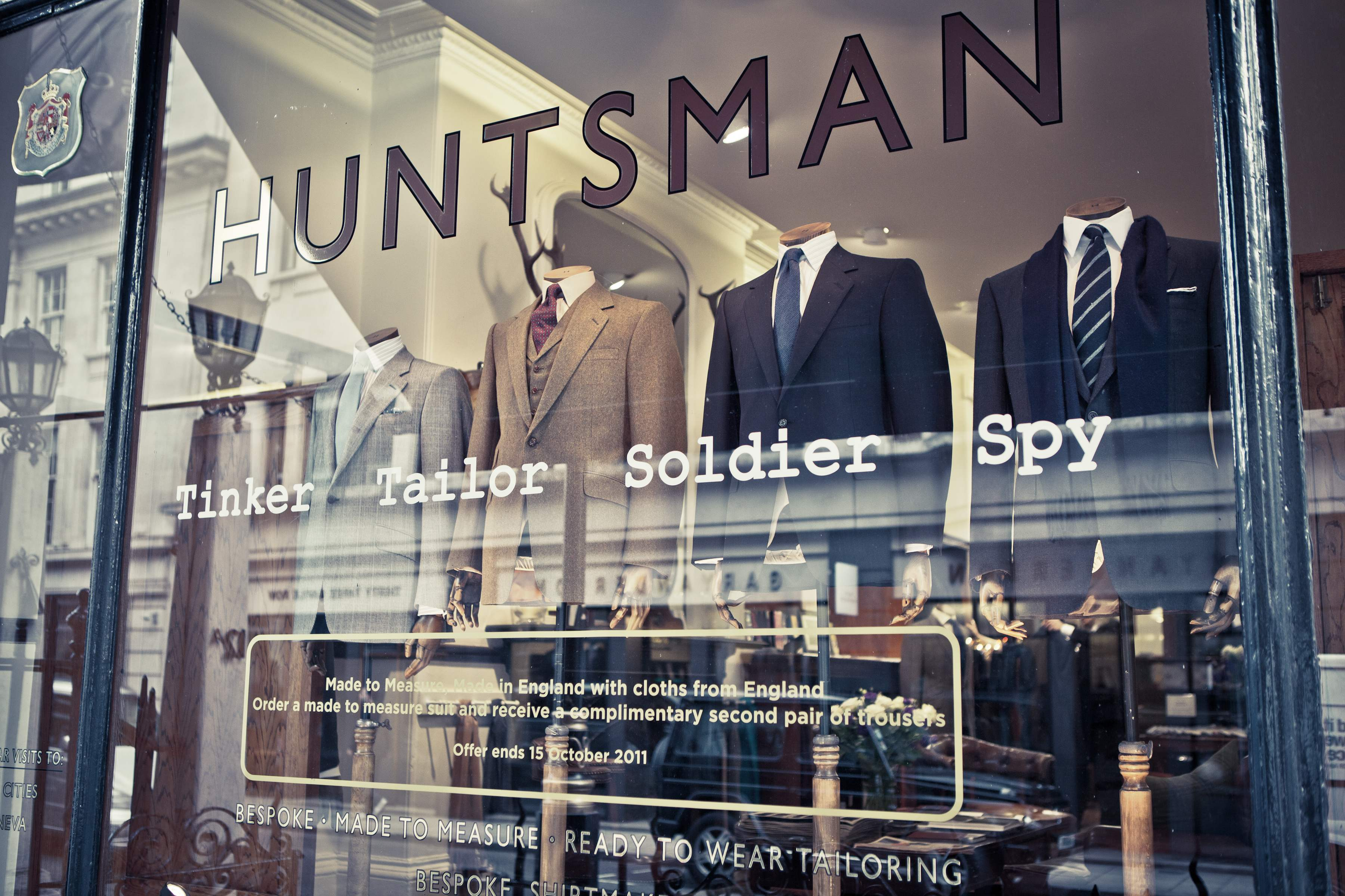Huntsman & sons : on ne transige pas avec les traditions