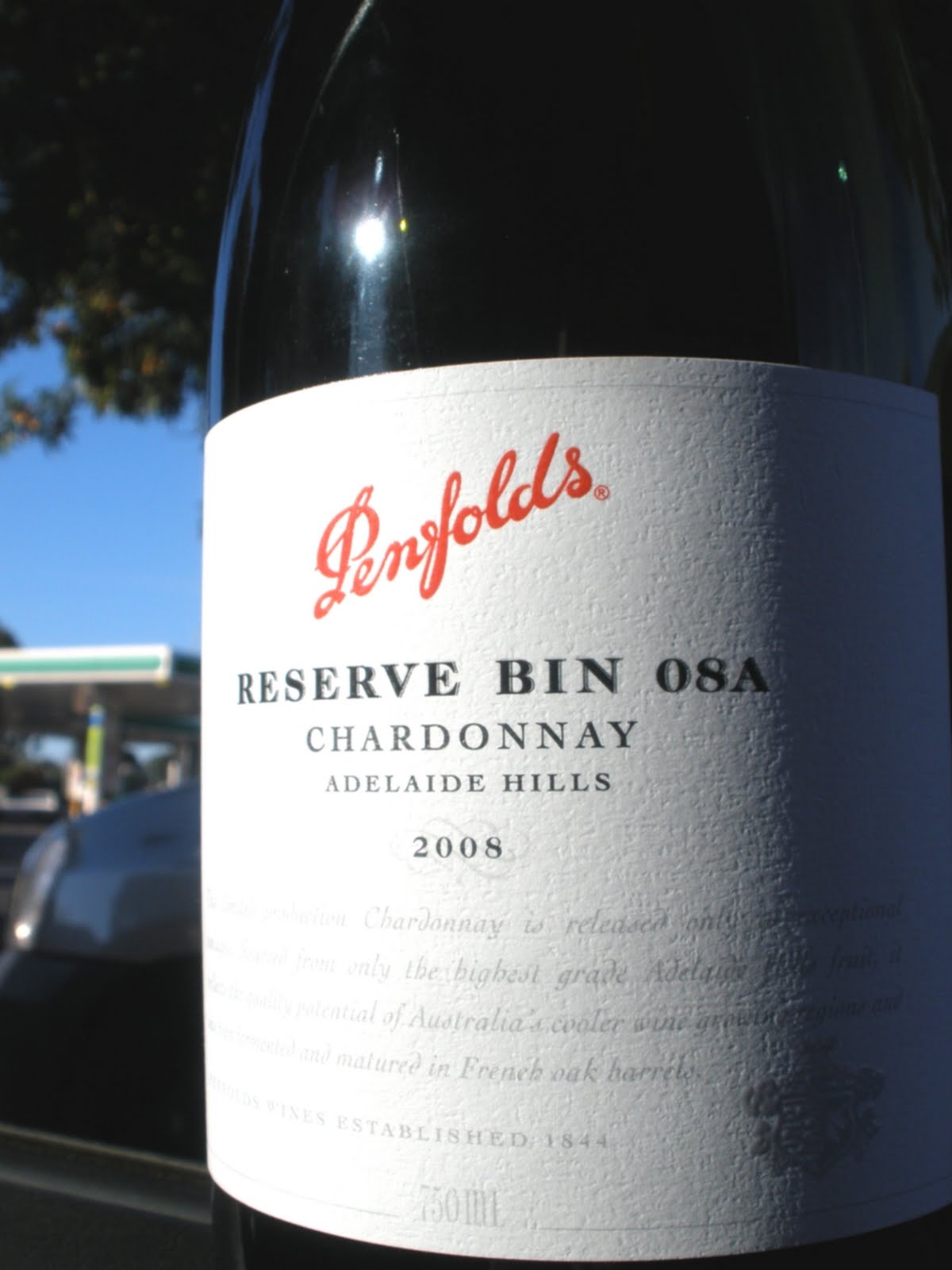 Bin08A Penfolds Chardonnay