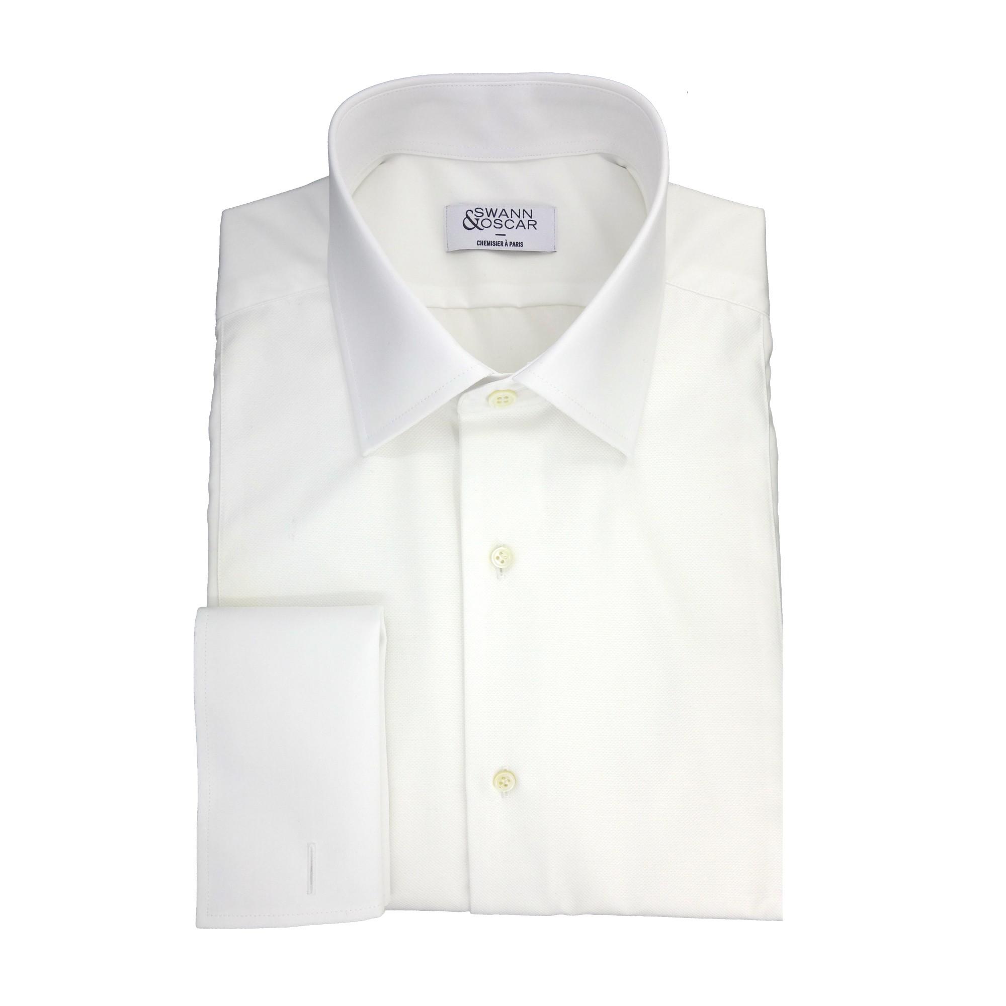 Swann and Oscar chemise blanche