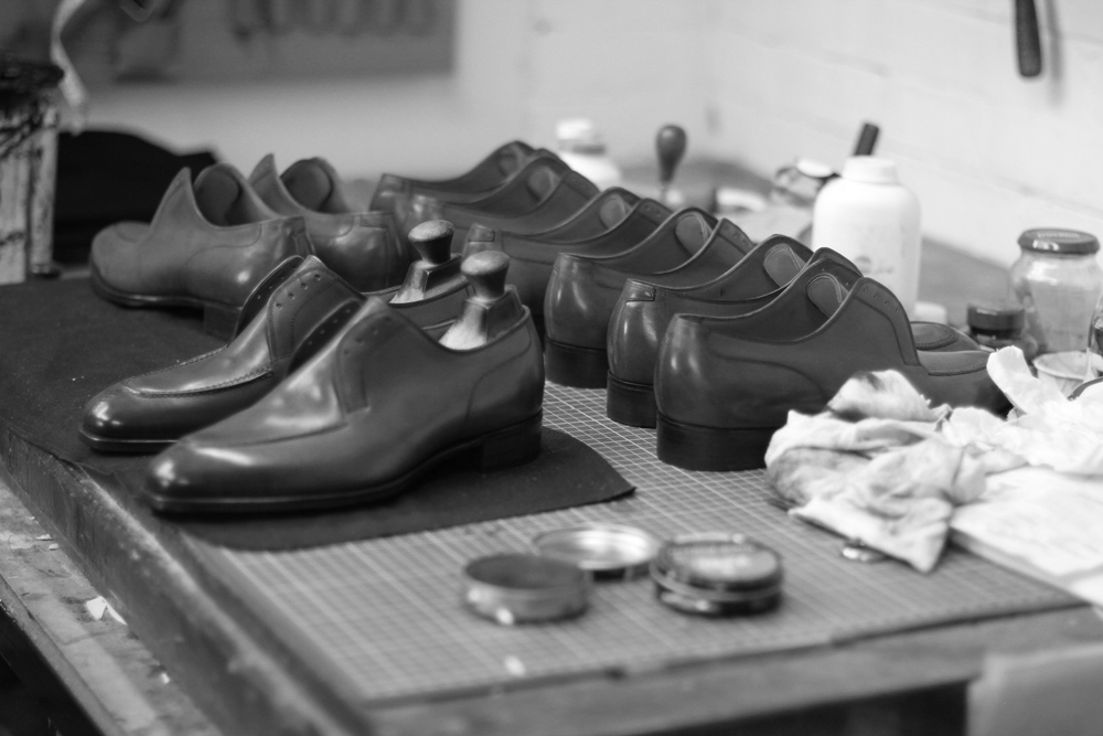G & G shoes at factory