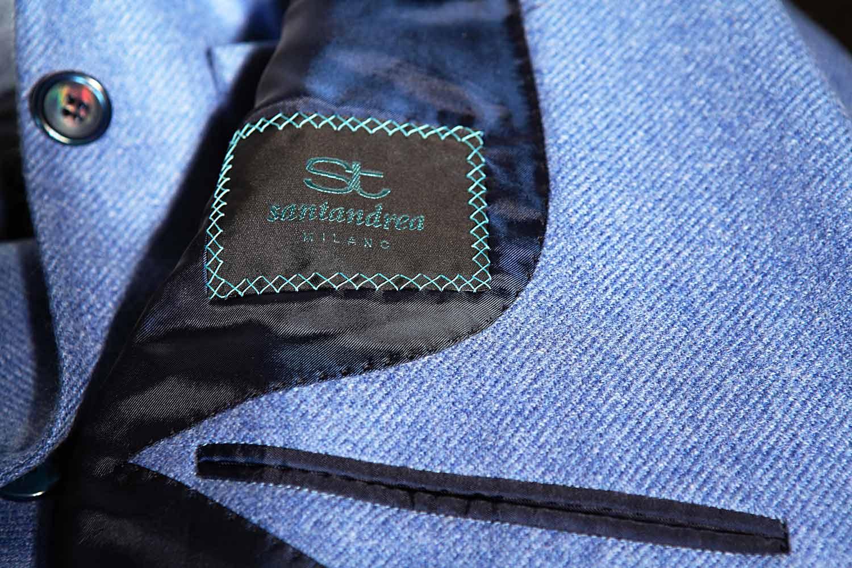 Santandrea Milano jacket detail