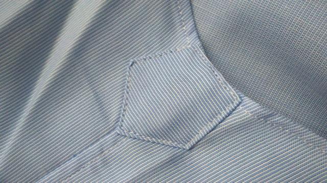 Lanieri chemise bleue hirondelle renfort