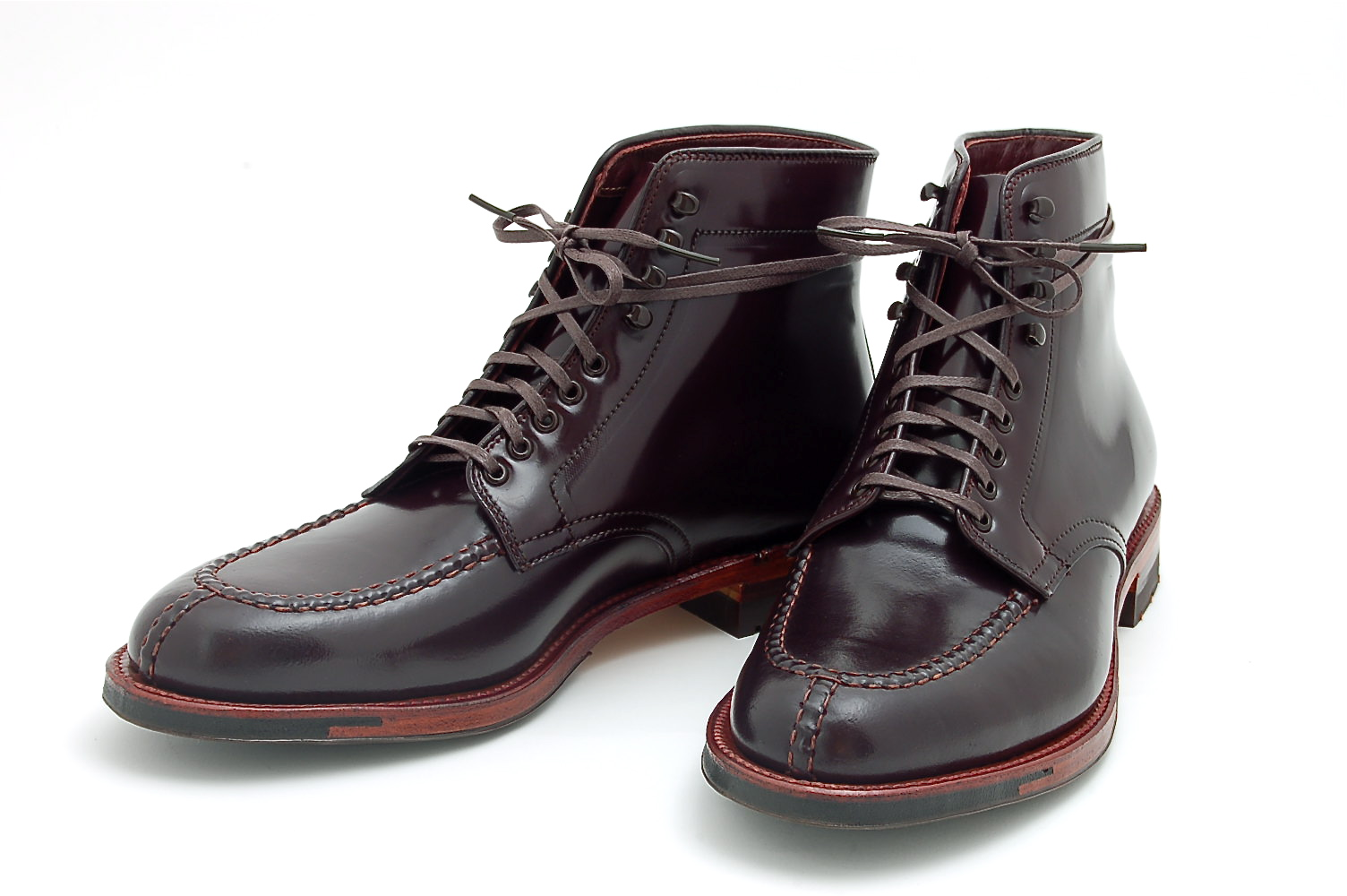 Le choix de Parisan Gentleman : les Tanker Boots Alden pour Leffot NYC