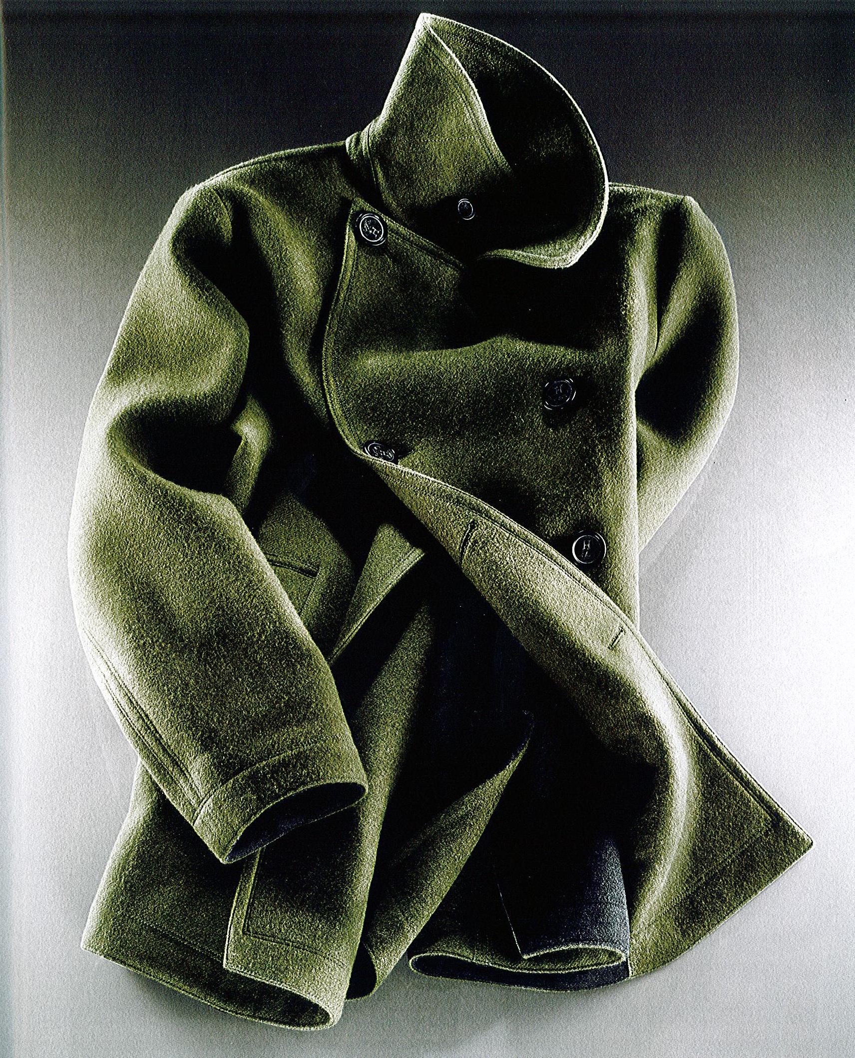 Le choix de Parisian Gentleman : le caban reversible Hermès