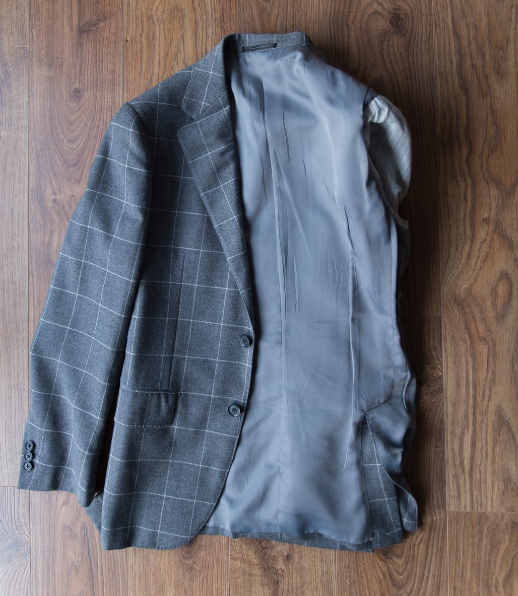 Folding a coat in a suitcase 2