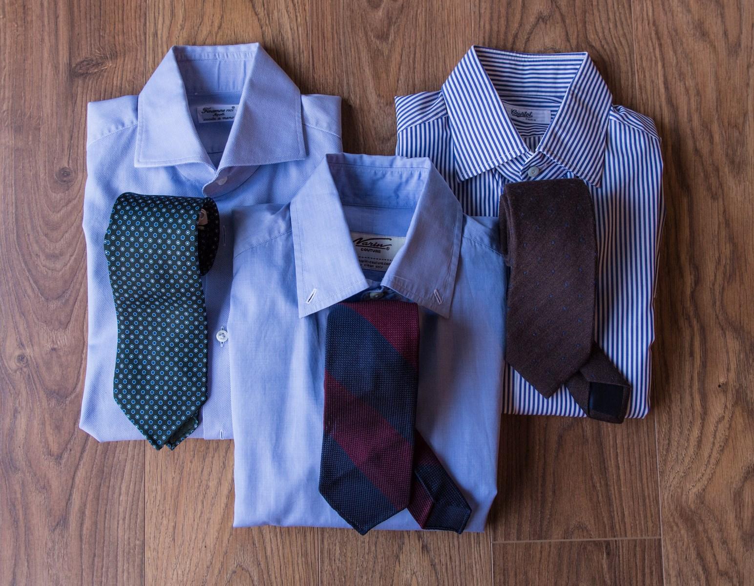 The Gentleman Traveler pt. 1 : folding your shirts