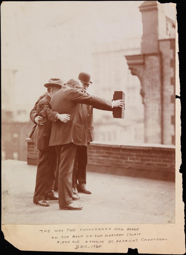 Le plus vieux selfie de l'histoire ?