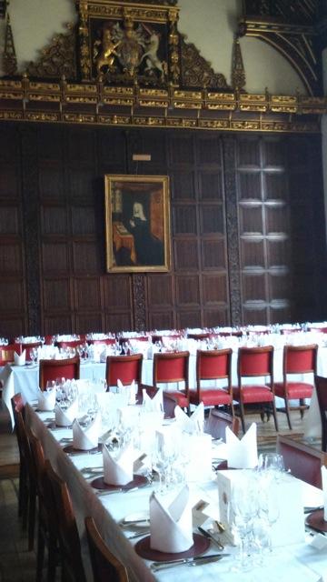 Cambridge Gala Dinner Room