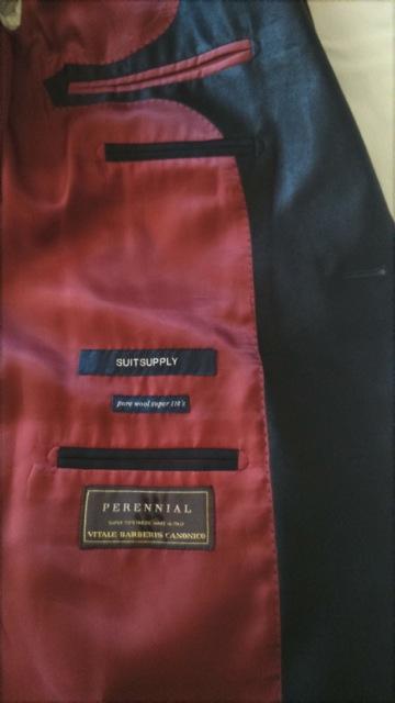 Smoking Suitsupply VBC fabric