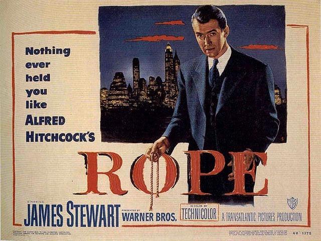 Leçon d'élégance au cinéma : La Corde d'Alfred Hitchcock