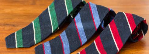 Cravates Howard's 3 Plis Shantung