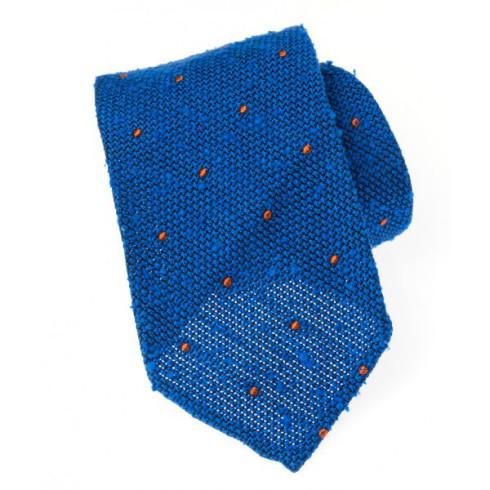 Howard's cravate 3 plis soie shantung