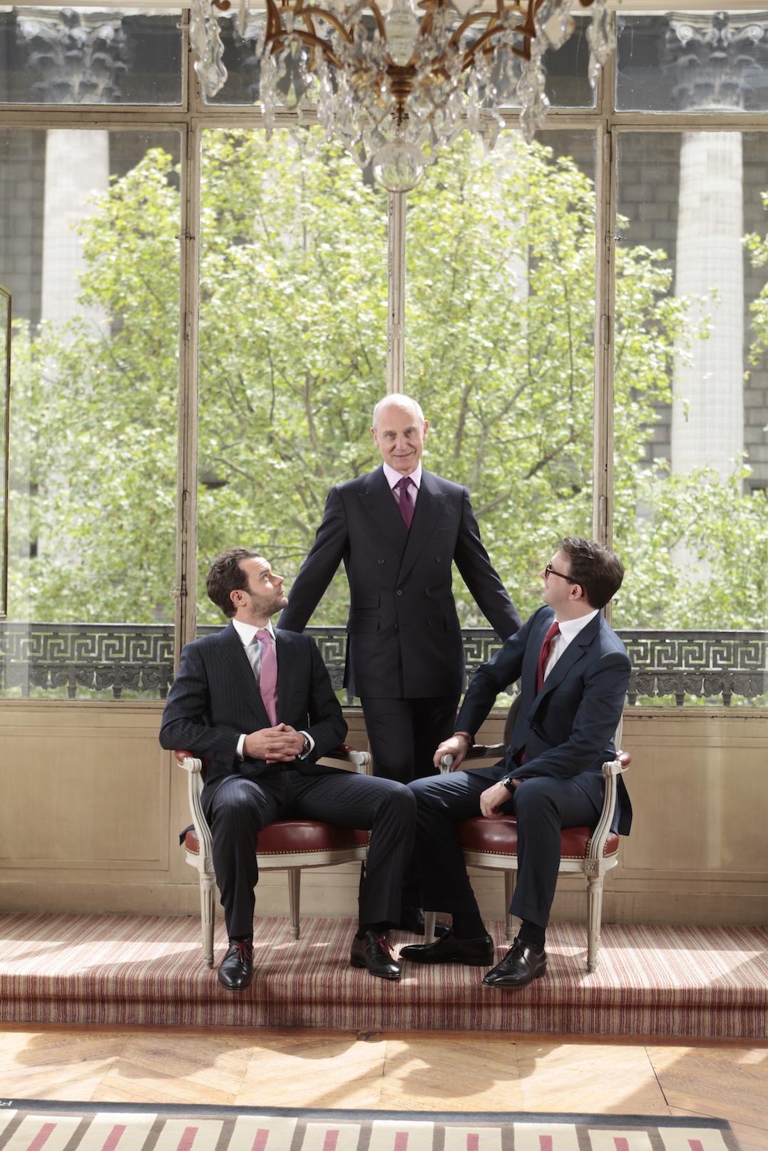 Les gentlemen de la capitale