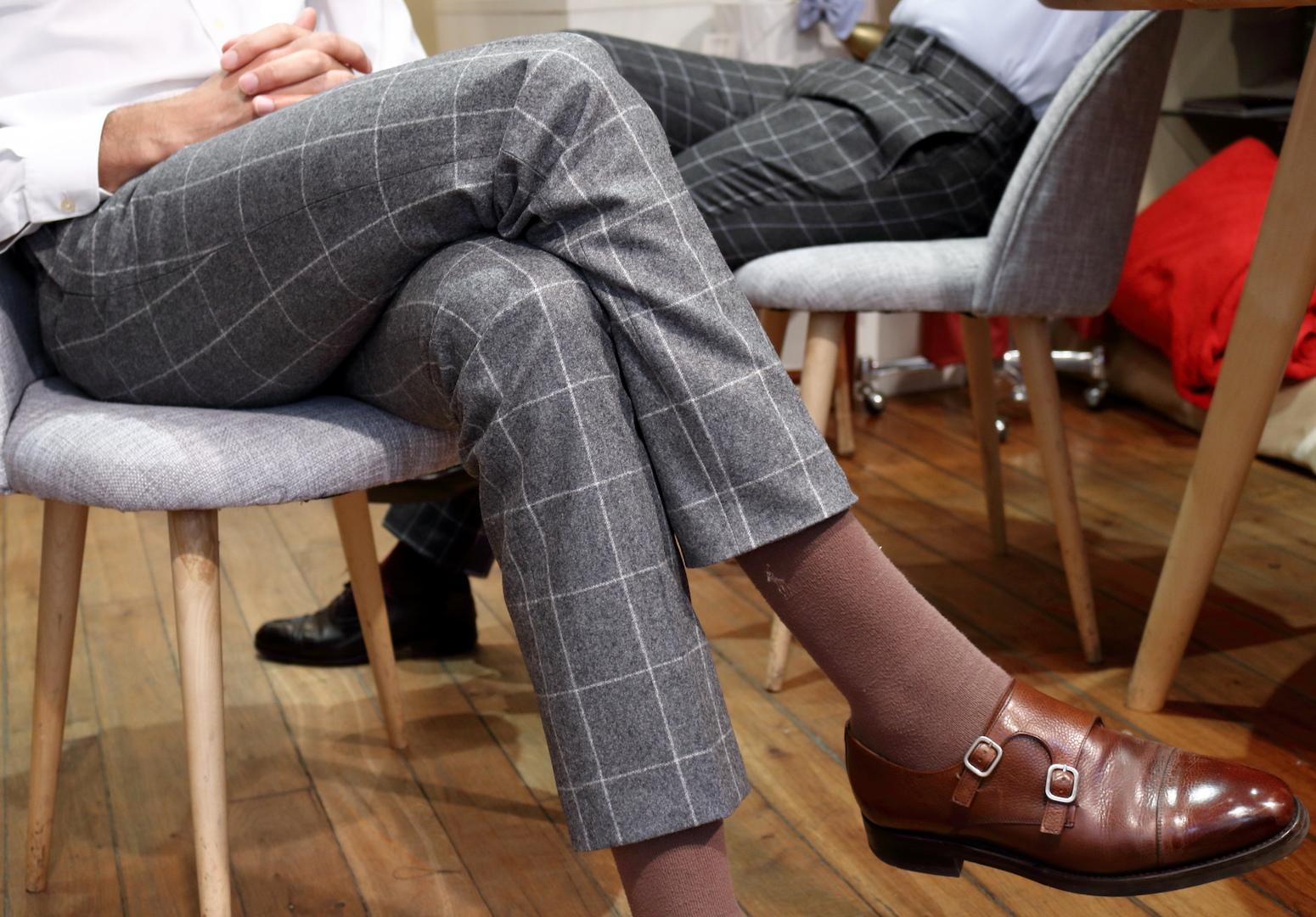 Les pantalons de Julien Scavini