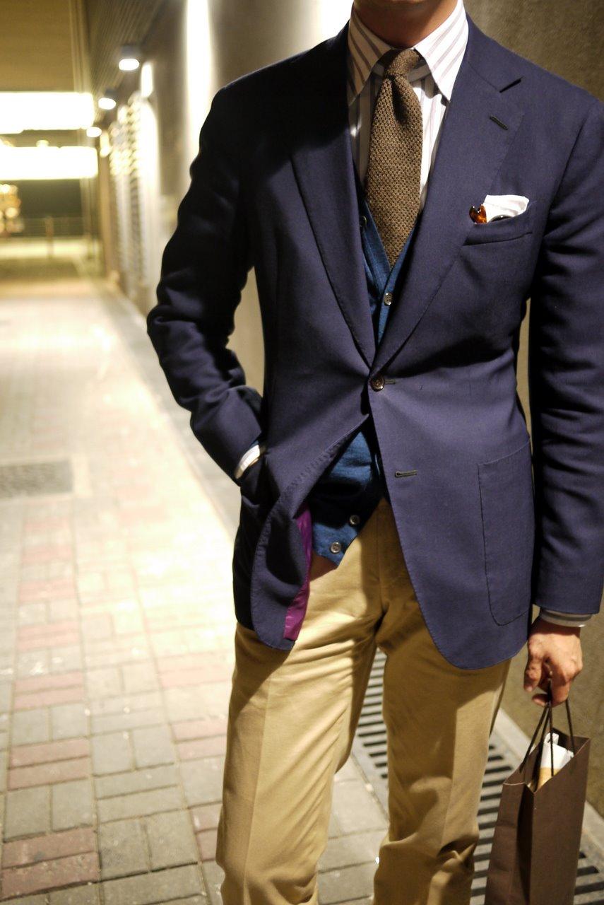 Cotton trousers 3 - odd jacket