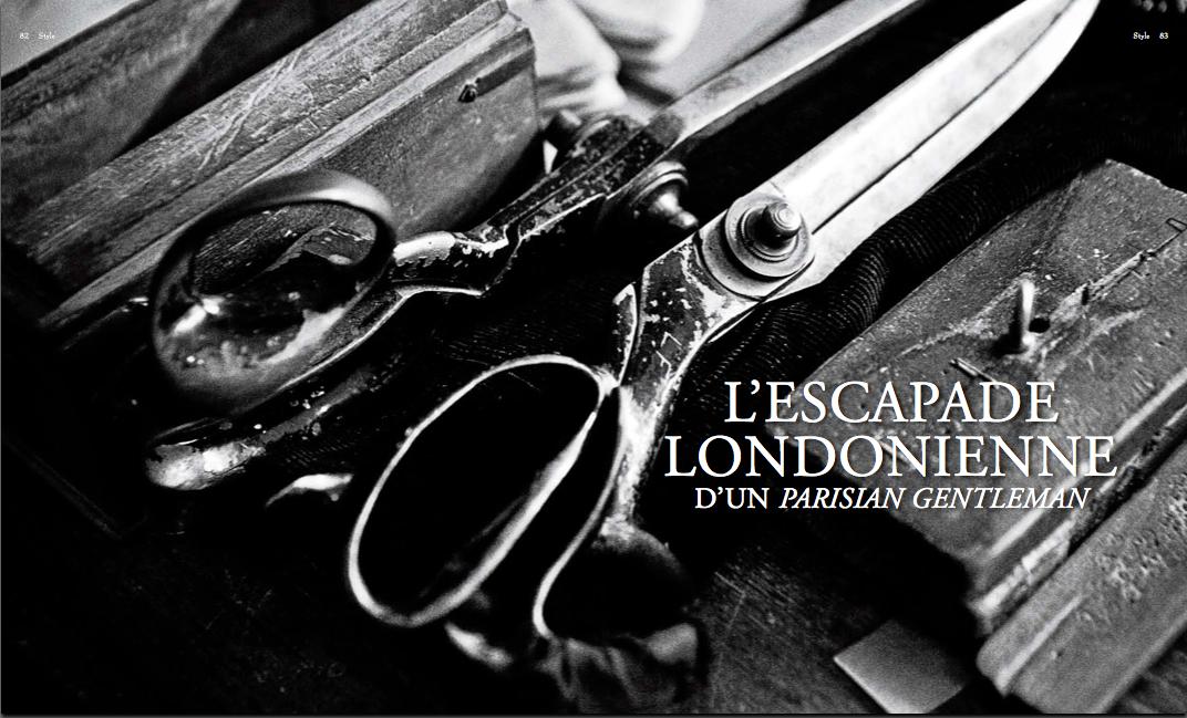 Parisian Gentleman's London adventure : introduction chapter