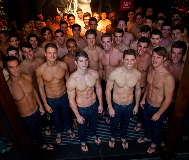 Sauvons Savile Row de l'invasion d'Abercrombie and Fitch !