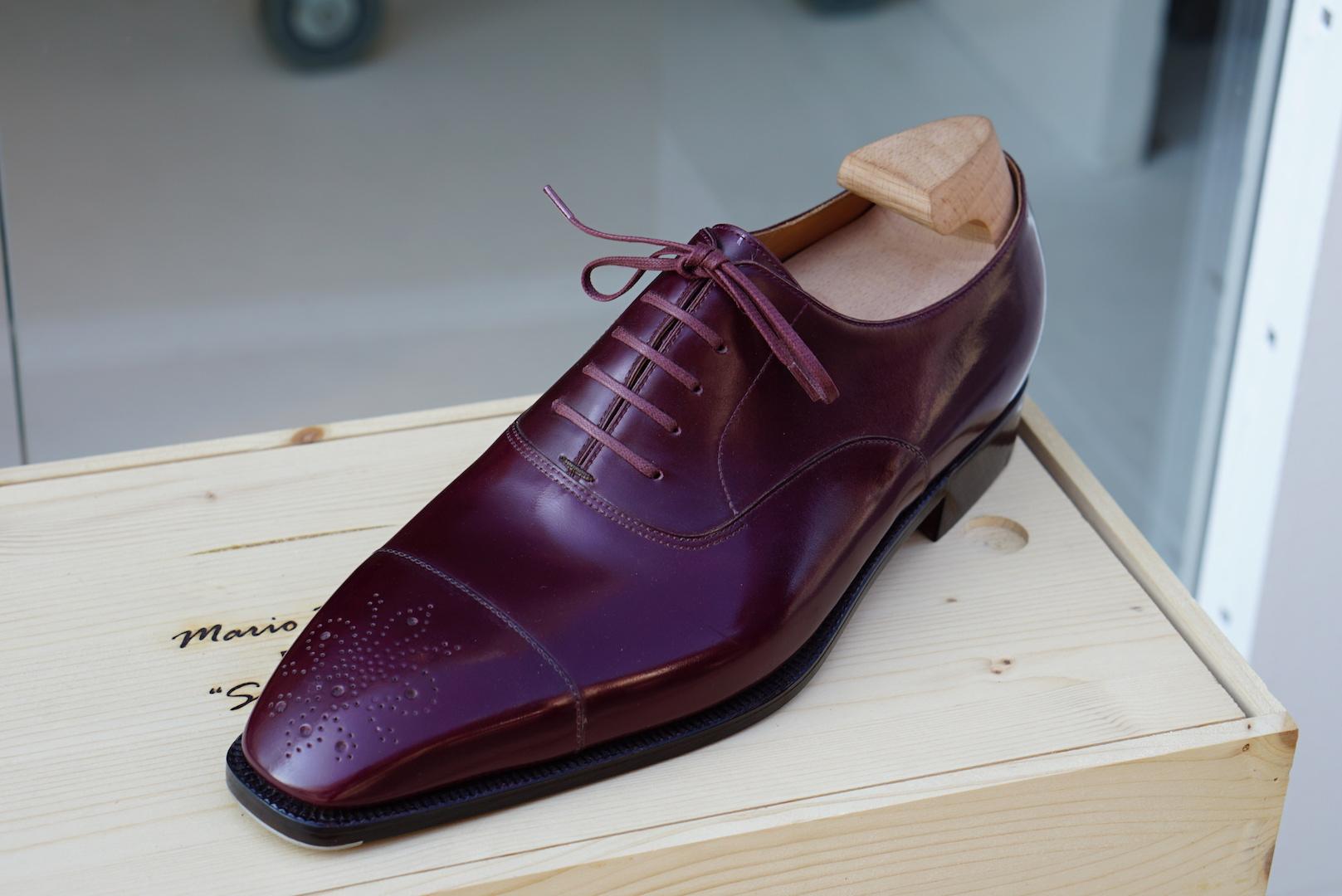 Ma première paire de souliers en bespoke chez Mario Bemer
