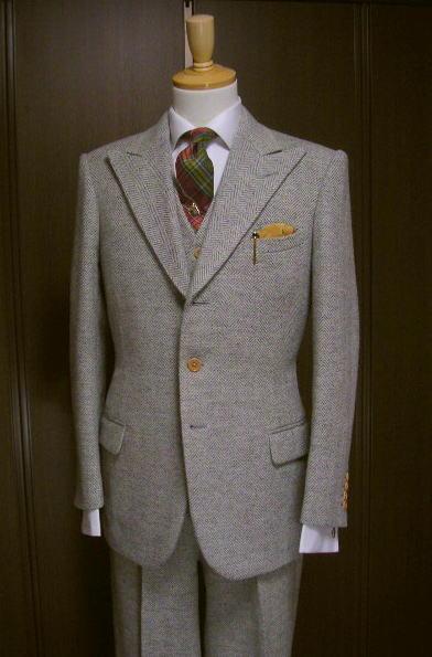 Magnifique costume Bespoke style années 30