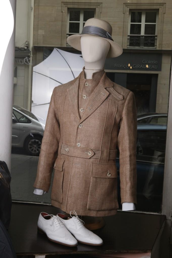 Marc Guyot Norfolk hunting jacket