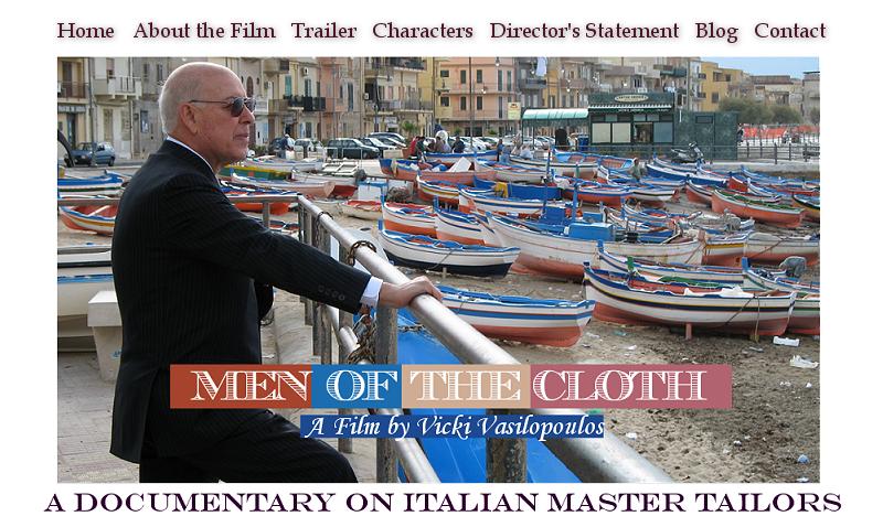 """""""Men of the Cloth"""" : documentaire sur les maîtres tailleurs italiens"""