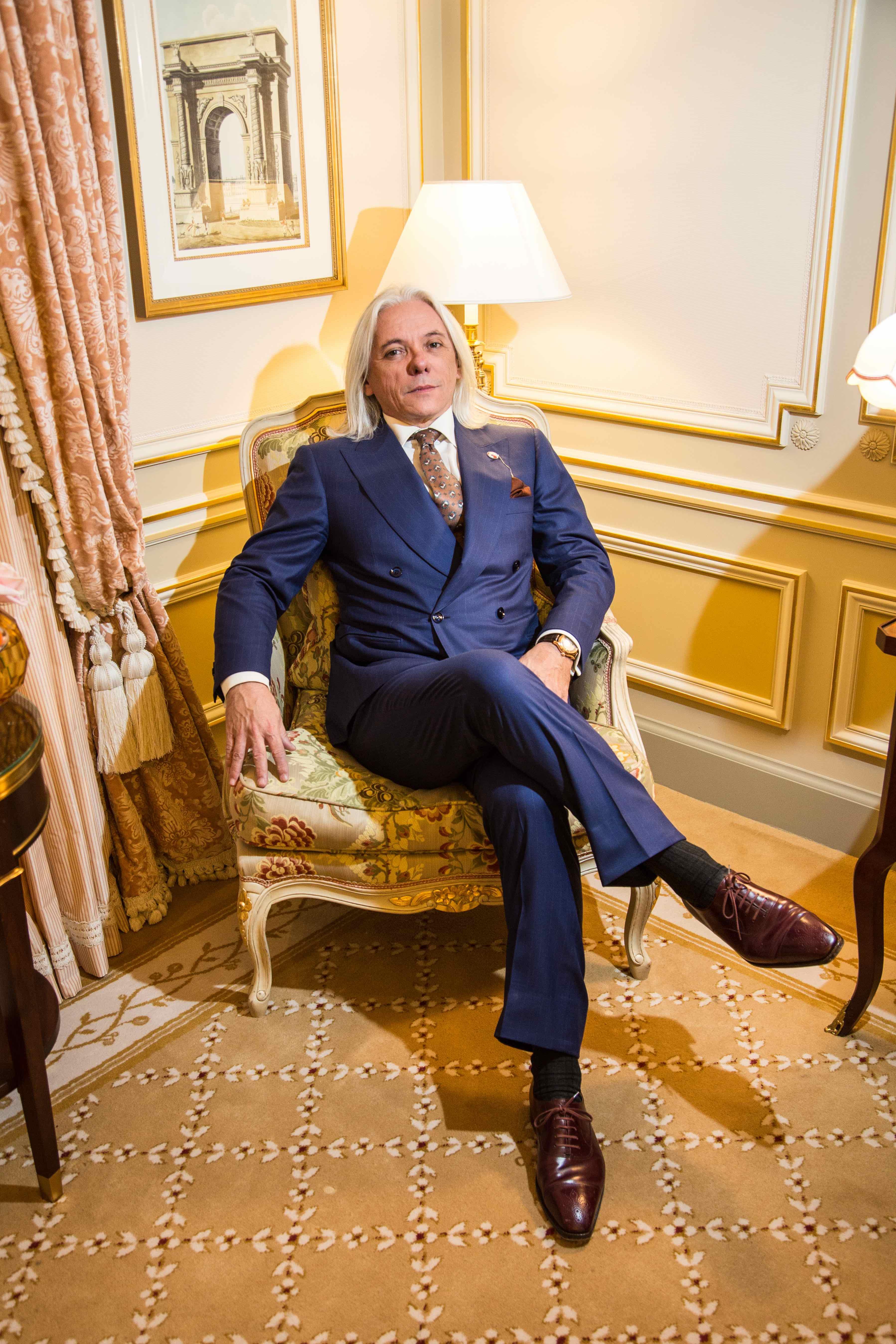 Mon premier costume croisé chez Gaetano Aloisio à Rome