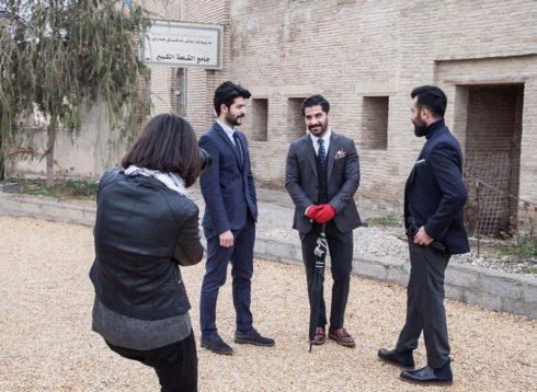 Photo shoot in Kurdistan Mr Erbil