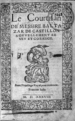 Castiglione Le livre du courtisan