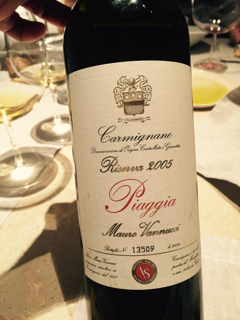 Piaggia Red Wine