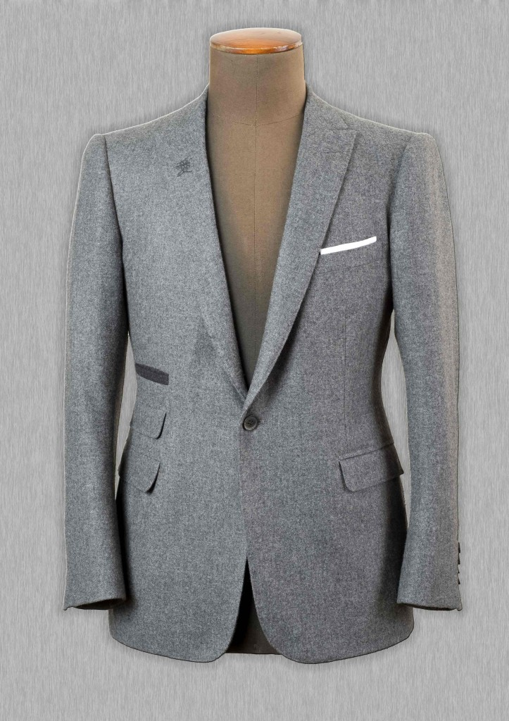 A Japanese-Inspired Bespoke Sport Jacket by Cifonelli