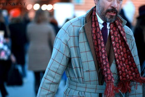 bordeaux scarf