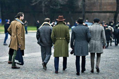 shorter overcoats