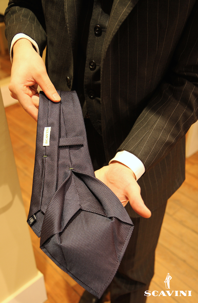 SCAVINI Cravate 7 plis