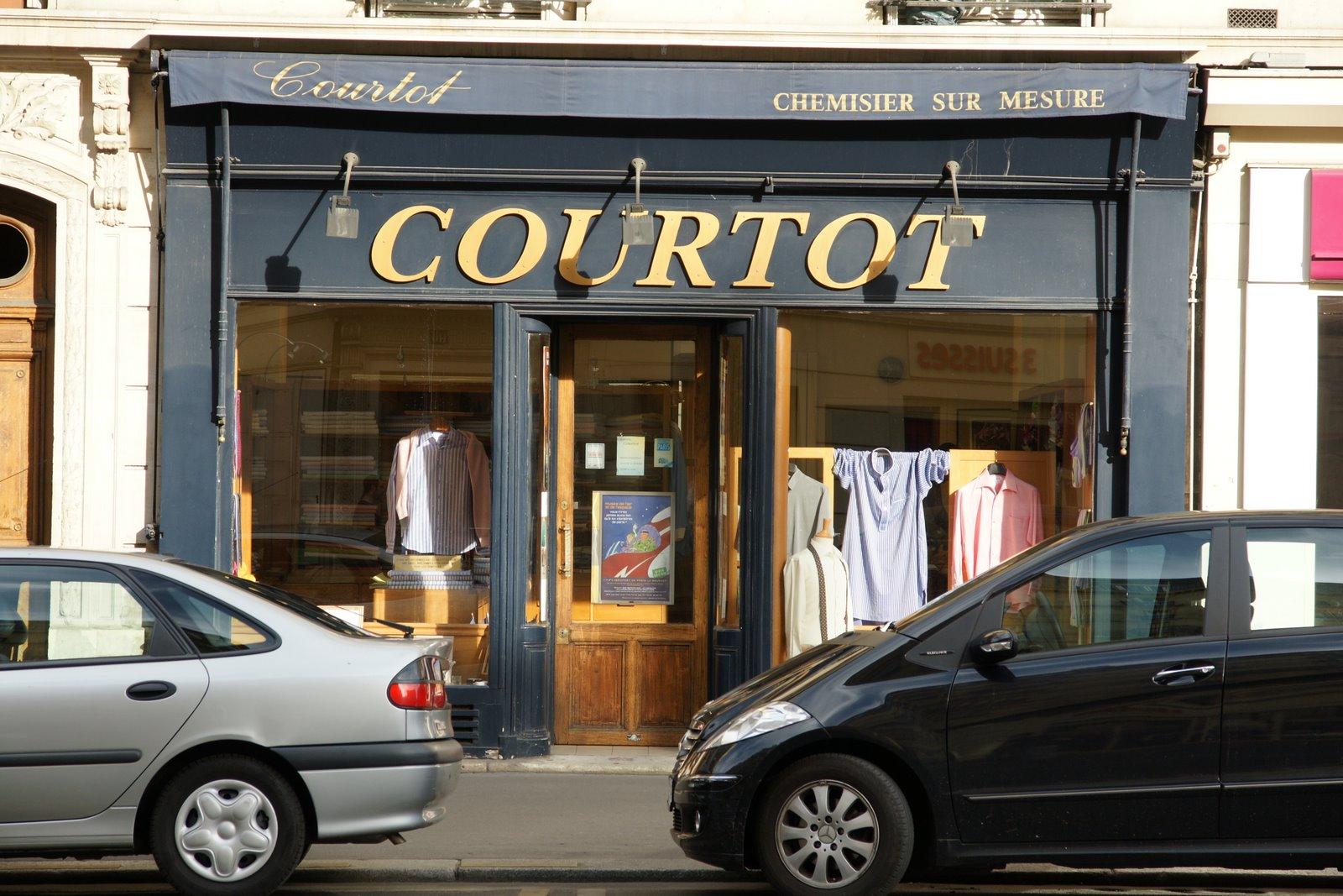 Simonnot Godard chez Courtot à Paris