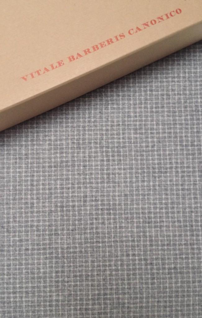 vbc gray white grid check flannel