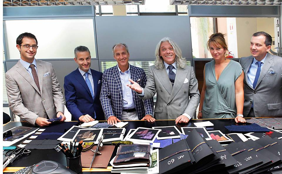 Small checks on suits the next big thing? (VBC Fabric Academy)