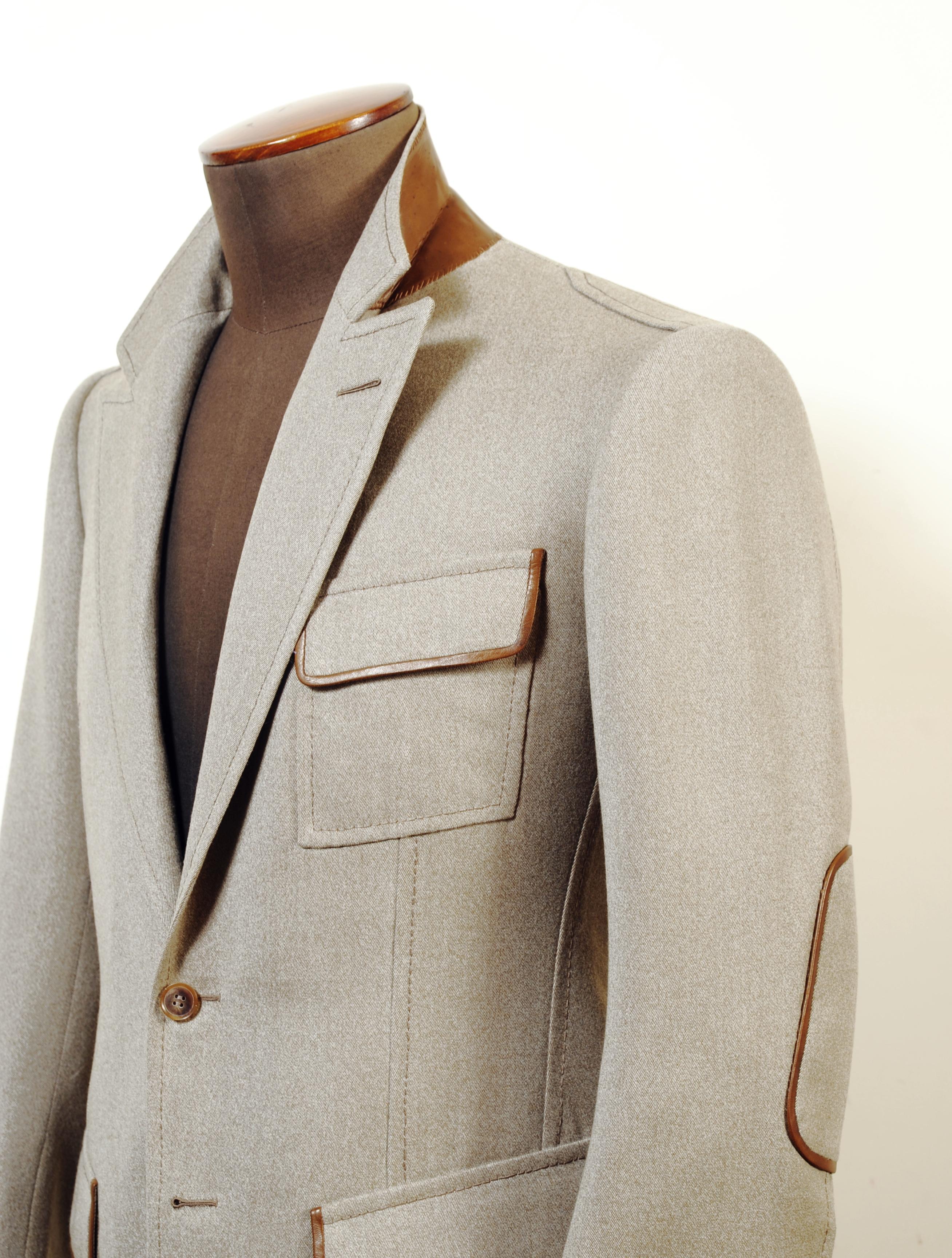 Sneak peek at 2 new sport jackets by Cifonelli Bespoke