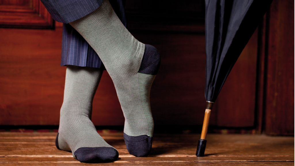 Socks - Necessity or Accessory?