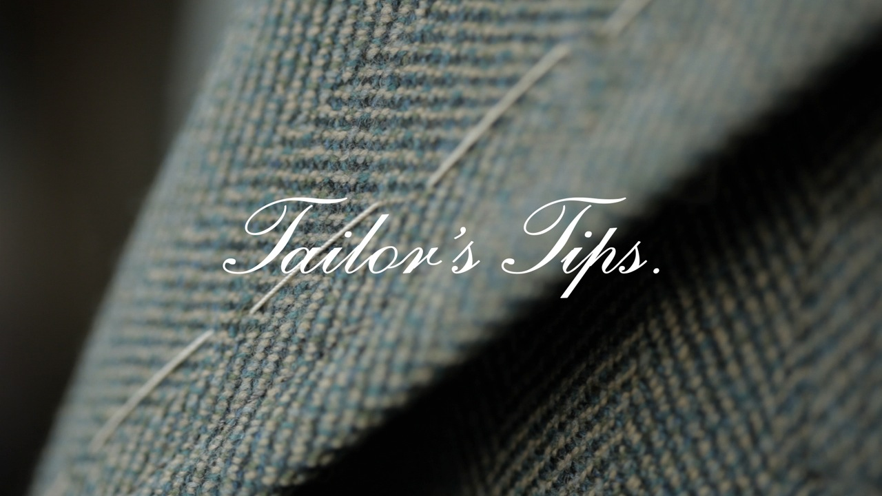 """Tailor's Tips"" par Vitale Barberis Canonico"