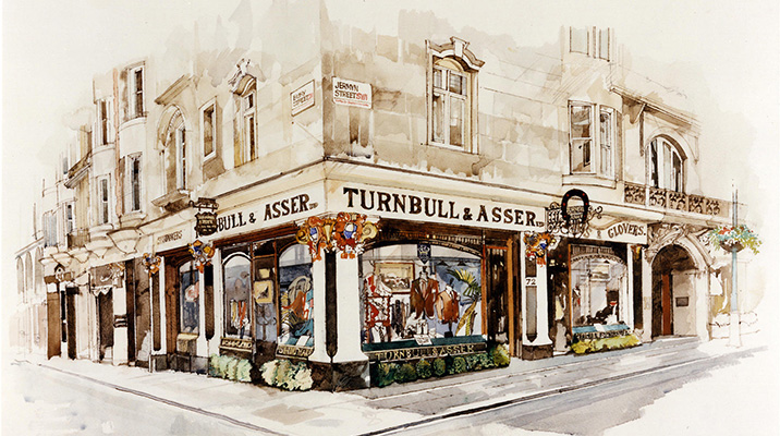 Turnbull and Asser shop